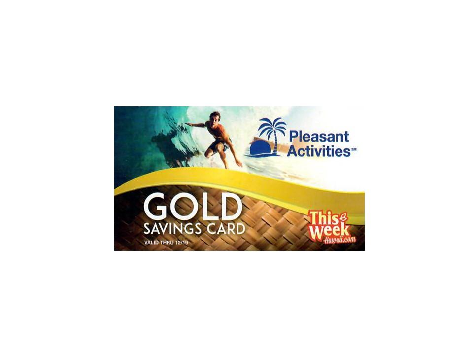 Product Gold Savings Card