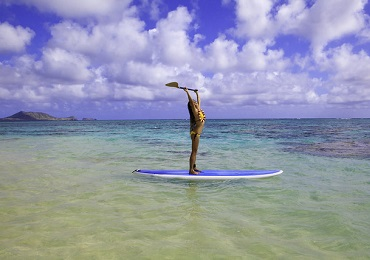 Stand Up Paddling Self Guided Tour image 1
