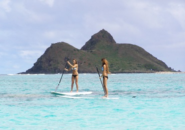 Product Stand Up Paddling Beginner Guided Lesson