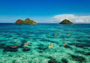 Oahu Guided Kayak Adventure