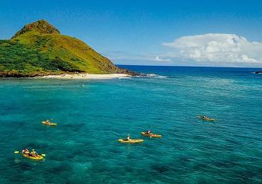 Product Oahu Guided Kayak Adventure